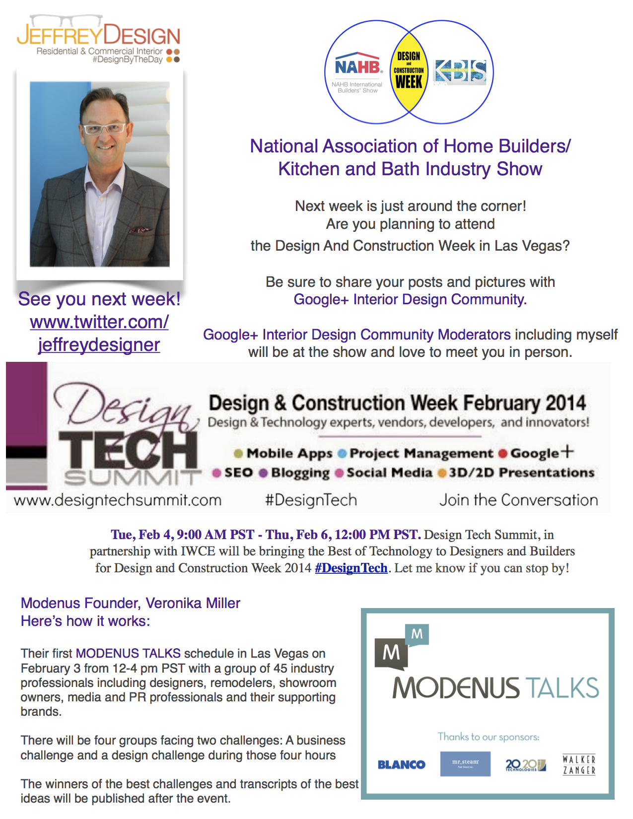 National Association of Home Builders/Kitchen and Bath Industry Show ...