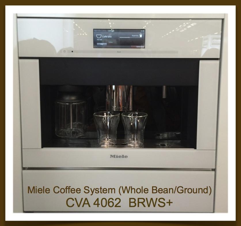 Jeffrey Design Blog  - Miele Coffee System