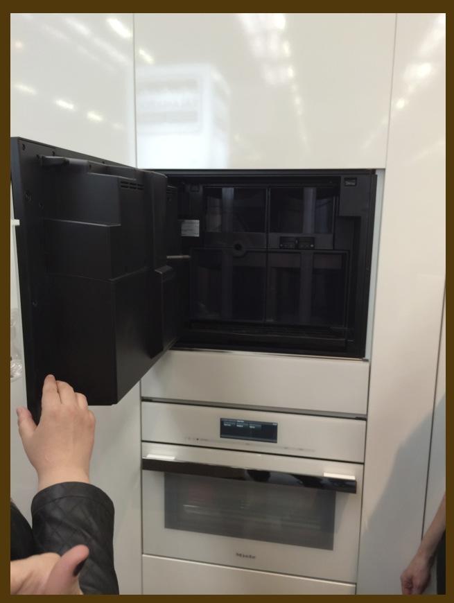 Jeffrey Design Blog - Miele inside coffee system
