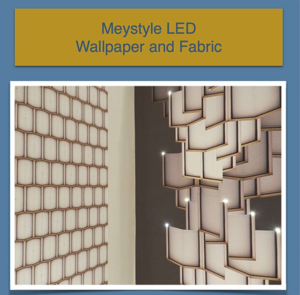 meystyle LED Wallpaper and Fabric