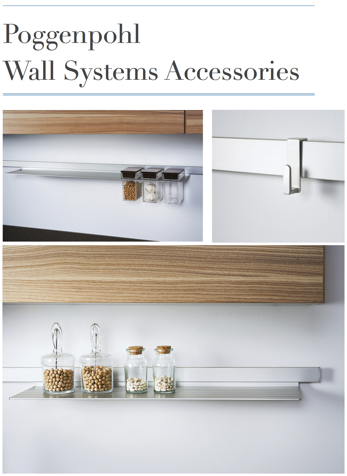 Poggenpohl Wall Systems Accessories