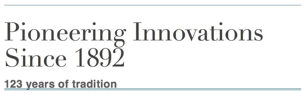 poggenpohl pioneering innovations