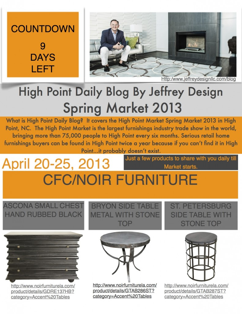 High Point Market Daily Blog 41113