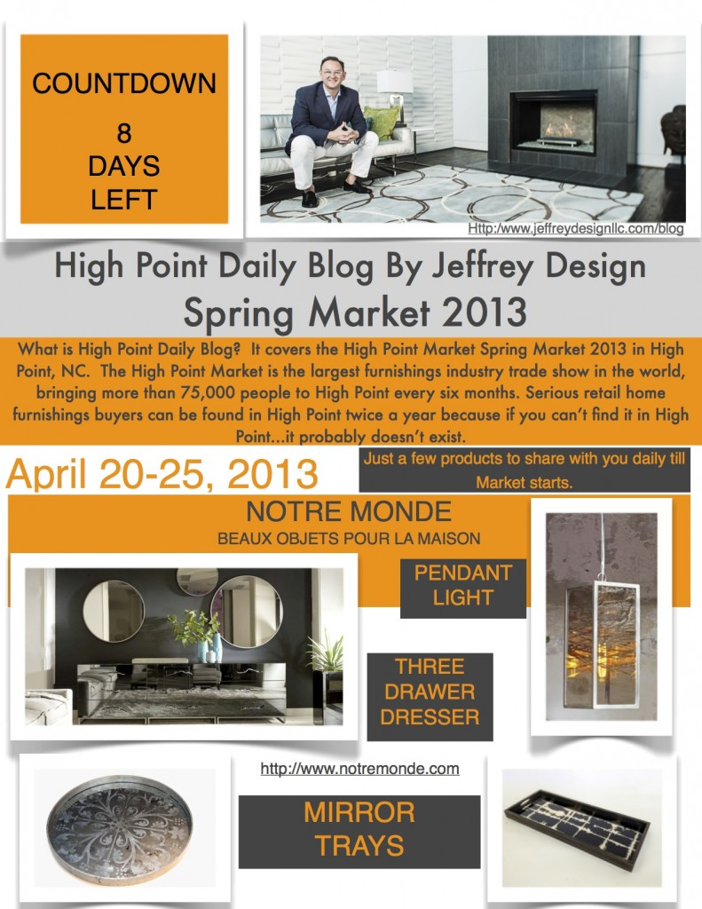 High Point Market Daily Blog 41213