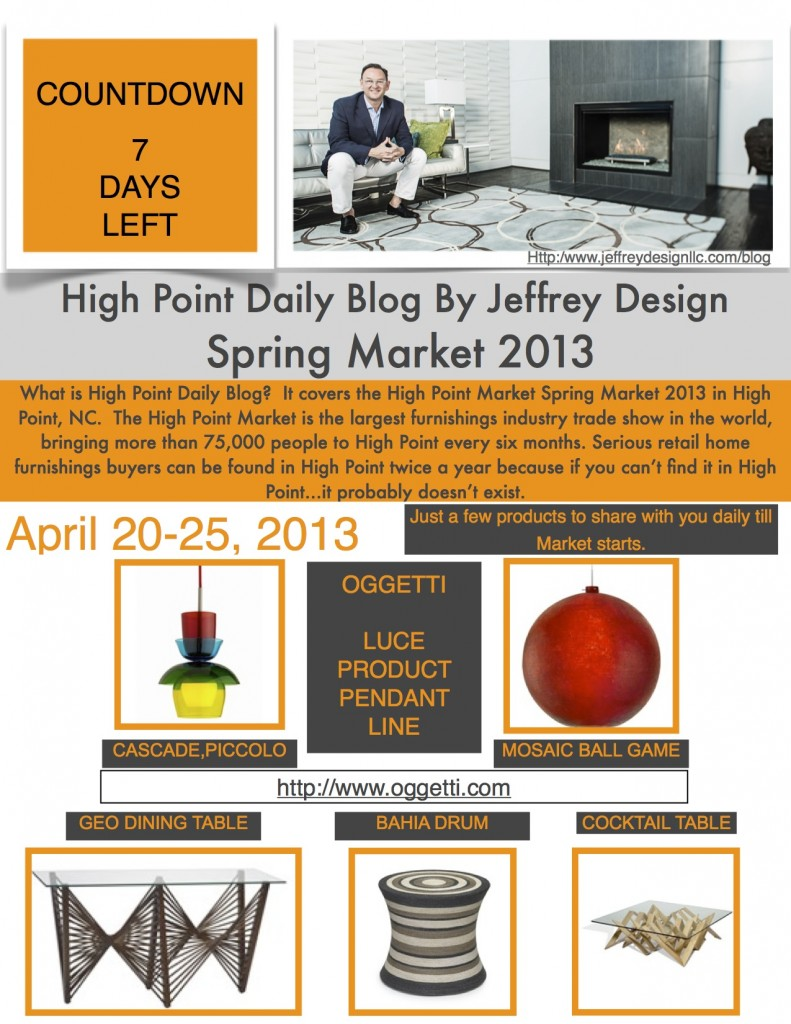 High Point Market Daily Blog 41313