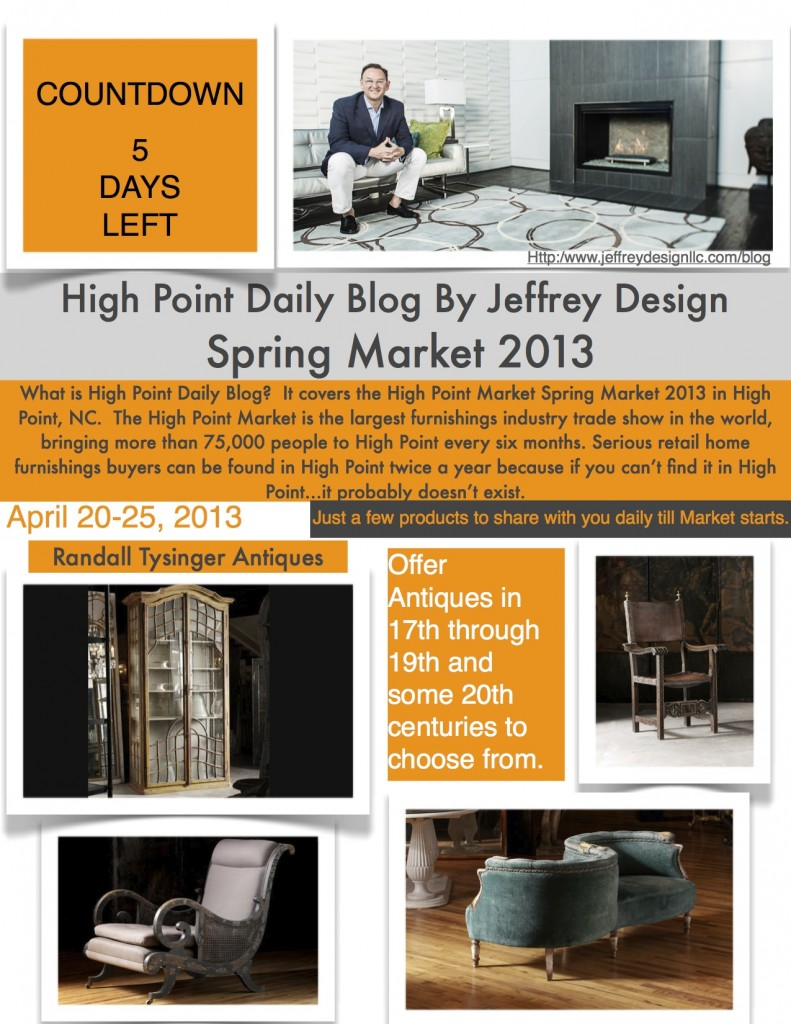 High Point Market Daily Blog 41513