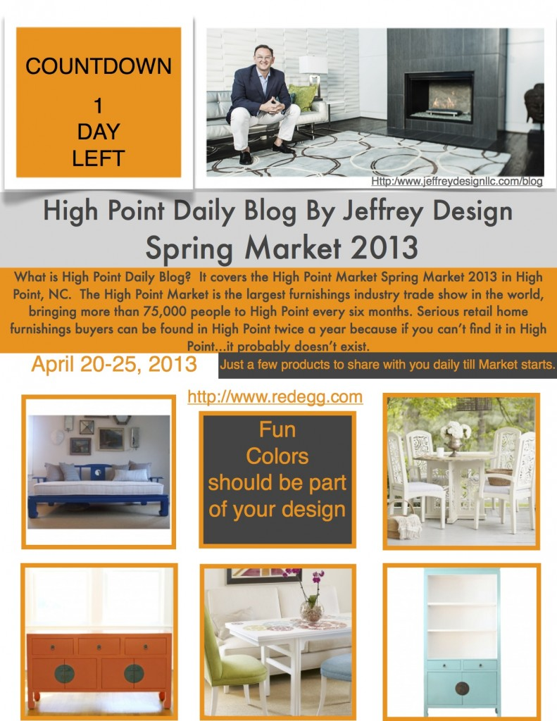 High Point Market Daily Blog 41913