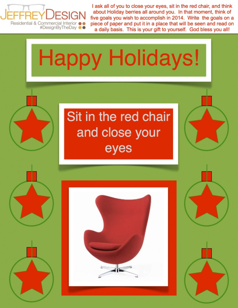 Jeffrey Design Blog JPG - Red Chair