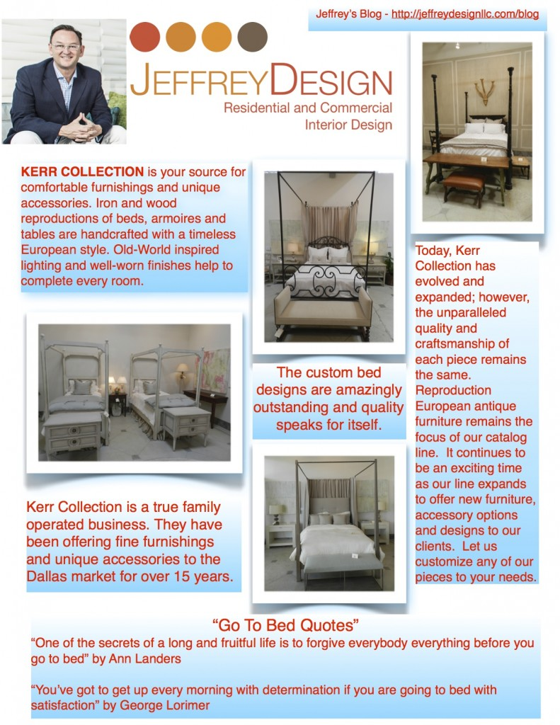 Jeffrey Design Blog - Kerr Collection